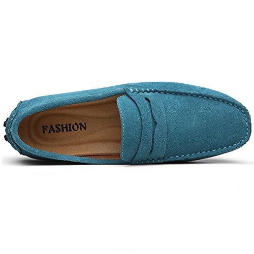 Hishoes, Mocassini uomo Blau