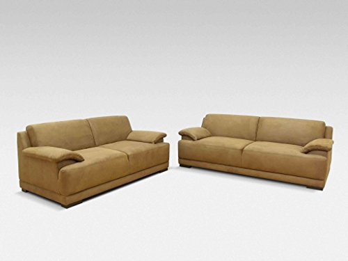 ALESSANDRIA Boxspringsofa 2-Sitzer 3-Sitzer Garnitur Sofa Couch Beige