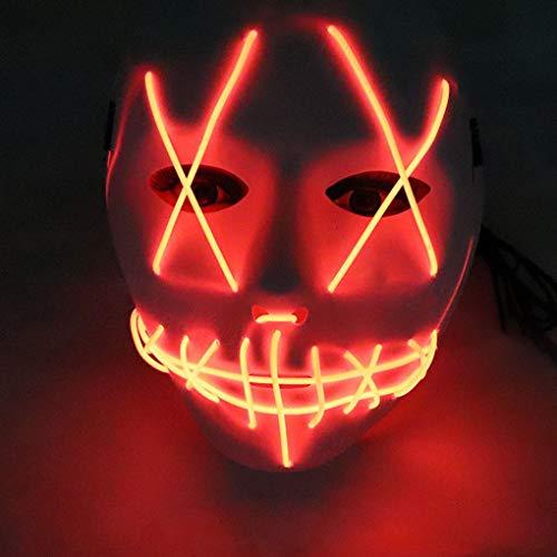 Beaums Controlador ordinaria/Voz Controlador EL Cable LED Máscara de Halloween Cosplay Partido de los apoyos Suministros