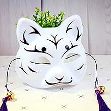 Máscara Máscara 35g PVC protección del medio ambiente máscara de gato máscara facial media cara pintada