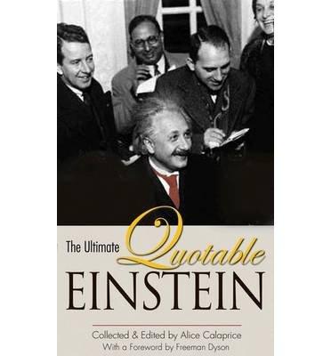 [( The Ultimate Quotable Einstein By Einstein, Albert ( Author ) Hardcover Oct - 2010)] Hardcover