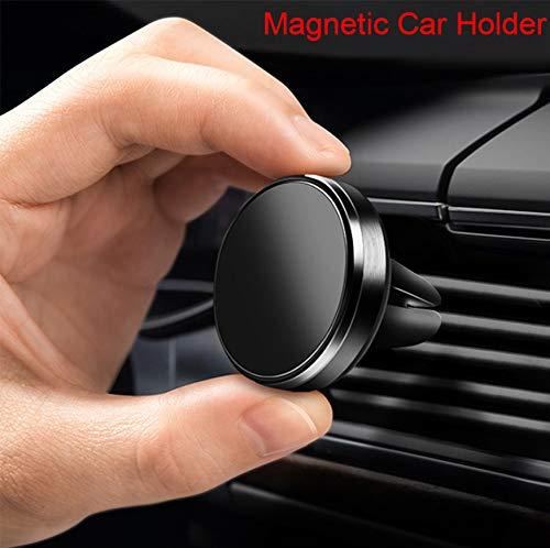 kgftdk Autotelefonhalterung Autotelefonhalterung Für iPhone 7 7Plus X Magnetische Handyhalterung Für P20 Lite GPS Air Vent Autohalterung Ständer -