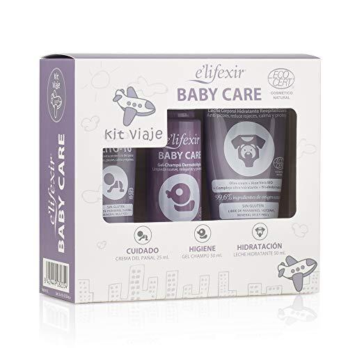 Elifexir Baby Care, Kit Viaje Eco, Cuidado Piel Bebé