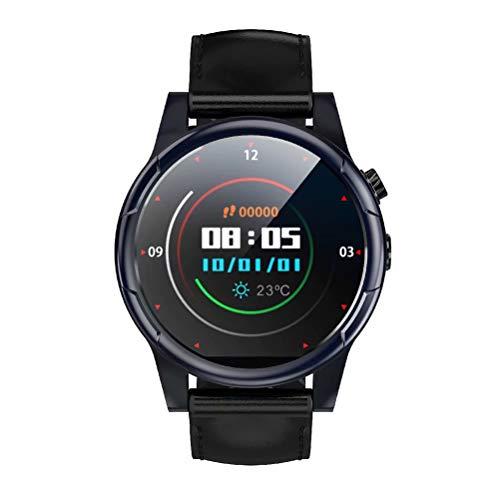 FFWJM Tutti Netcom Mobile Unicom Telecom 4G VoIP Smart Watch 3 + 32G Sport Herzfrequenz (Schwarz) schwarz