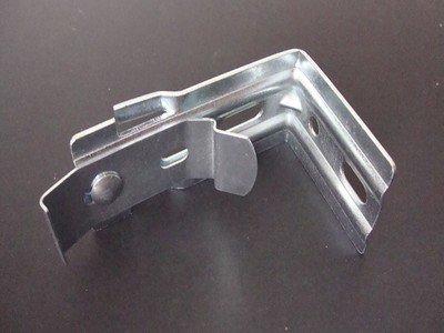Amazing Drapery Hardware Estor Vertical L Soportes con Clips- Todos los Soportes de Acero Paquete de 22