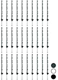 Woodside - Erdspieße für Gartenzaun - 30 Stück je 1,22 m (4 ft) - Grün