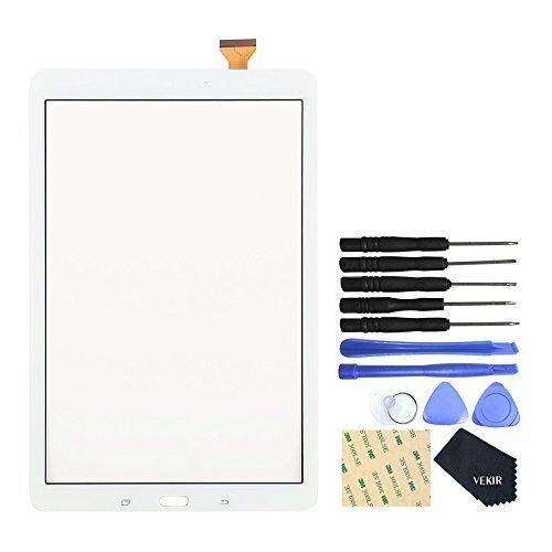 Funzione VEKIR Touch con schermo obiettivo di vetro per Samsung Galaxy Tab 9.6 e SM-T560 T561 T560 (bianco)