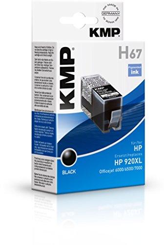 Preisvergleich Produktbild KMP Tintenkartusche für HP Officejet 6000/6500/7000, H67, black