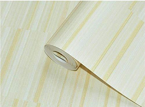 WPDecor Tapeten Pune Nostalgisch Retro Unregelmäßigen Querstreifen Vlies Meliert Hintergrund Tapete Schlafzimmer Wohnzimmer@162111_5.3M2