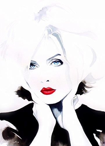 atomic-fine-art-print-of-original-watercolor-painting-portrait-punk-rock-1980s-blonde-hair-salon-dec
