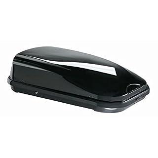 Dachbox VDP-FL320 Black schwarz glänzend universal Dachkoffer für Reise,Camping abschließbar 320 Liter