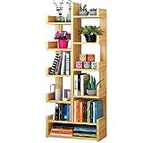 6-Tier Vertikale Bücherregal Bücherregal Divider Unit Storage Schließfächer Kinder Bücherregal Multifunktions Home Office Display-Ständer