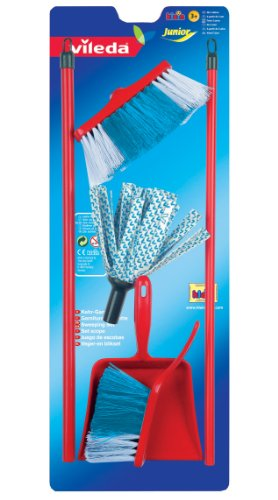 Price comparison product image Theo Klein Toy Vileda Mop and Dustpan and Brush  Set