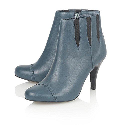 Lotus in Pelle Bea blu stivali alla caviglia, Chelsea Stivali Blu