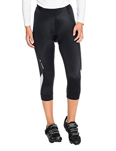 VAUDE Damen Hose Advanced 3/4 Pants II, Black/White, 34, 06776