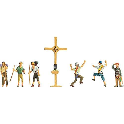Noch 36874 - Bergwanderer mit Gipfelkreuz Figuren
