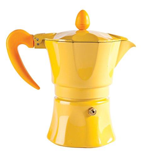 """Excelsa """"aroma color"""" 3Copa amarillo máquina de café"""