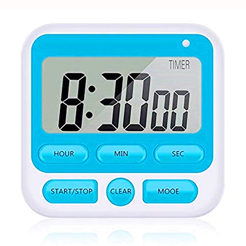Reloj despertador, temporizador cocina, temporizador