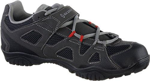Scott, Chaussures de Trail Mixte Adulte Noir/Rouge