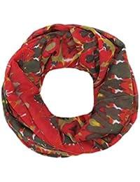 Accessu Loop Schlauchschal Tuch In High Fashion Ikat Ethno Aztec Design  Damen