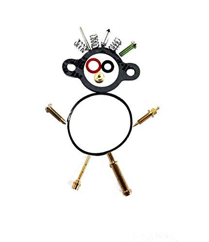 OxoxO Carburetor Carb Kawasaki Engine FC420V Rebuild Kit FC420 KD2153 r550 Replacement Parts (Gasket Kit Bowl)