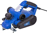 Ford 900 Watts 82mm Planer, Corded Electric 3mm Maximum Adjustable Depth Wood Trimmer with Dual Dust Port, Han