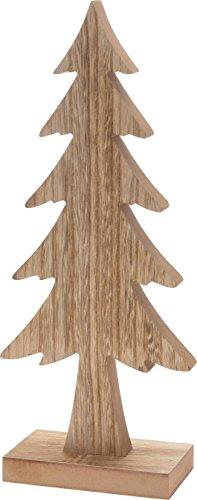 CHICCIE Tannenbaum Aus Holz   37cm   Deko Weihnachten Tanne