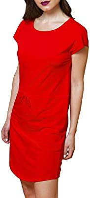 Vestido Only May Rojo