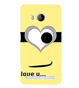 Love You Wallpaper 3D Hard Polycarbonate Designer Back Case Cover for Vivo Xshot