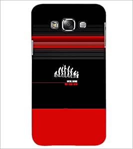 PrintDhaba Evolution D-2996 Back Case Cover for SAMSUNG GALAXY GRAND MAX (Multi-Coloured)