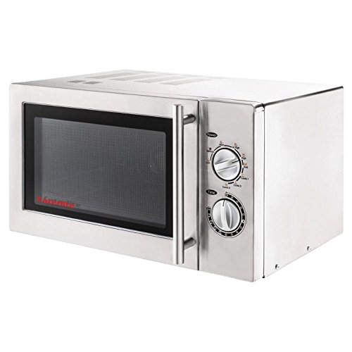 41T EqaqpjL. SS500  - Caterlite Commercial Microwave Oven with Grill 900W Light Duty Stainless Steel Appliance