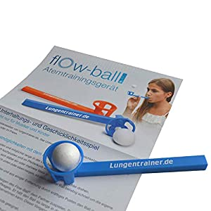 HAB & GUT Atemtrainingsgerät Flow-Ball – Plus – 50er Set
