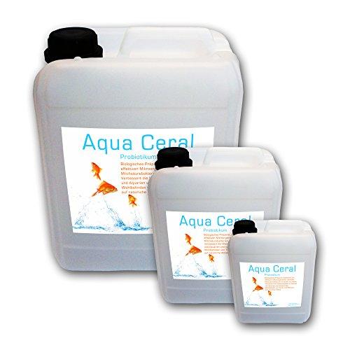 baumgrün 25L Milchsäurebakterien, probiotische Filterbakterien, Starterbakterien, Koi, Teich Aqua Ceral (25 Liter)