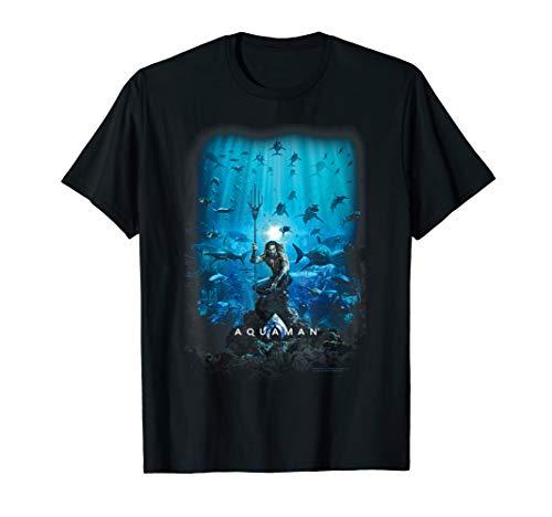 Jason T-shirt Tee (Aquaman Movie Poster T Shirt)