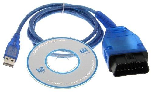 Diagnostic USB Cable OBD2 OBD-II for KKL409 1 VAG-COM 409 1 Audi VW Skoda  Seat