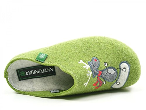 Dr. Brinkmann 320484 Pantofole Donna Vert