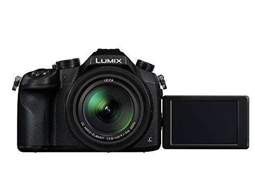"Panasonic FZ1000 Bridge Fotocamera, 20 Mpixel, Sensore da 1"", Obiettivo Leica 16X, 4K, Wi-Fi, NFC, Nero"