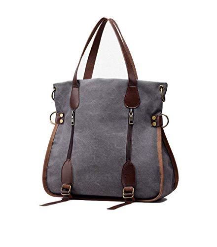 Hasun Damen Groß Handtaschen Nylon Tragetaschen Wasserdicht Handbag Leicht Einfach Umhängetasche Elegant Handtasche