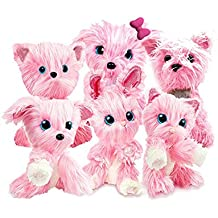 AOLVO Plush Mystery Rescue Pet, Cute Puppy Puppy Toys For Baby Toddlers Kids, Best Birthday, Shower, Festival Gift (tamaño Aleatorio/Rosa)