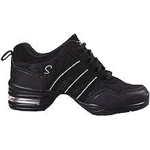 Zapatos de Baile Danza Moderna Zapatos de Jazz Movimiento Zapatos de la  Aptitud 3747faa75d5