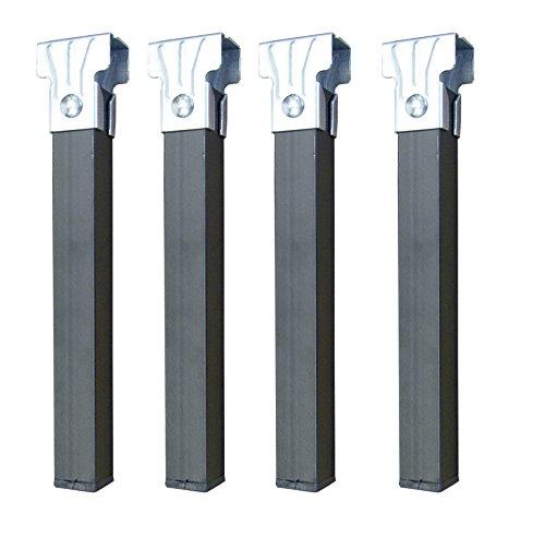 Imex El Zorro Set mit 4 Basisbeinen ohne Räder, Metall, Neutral, 35 x 30 x 30 mm