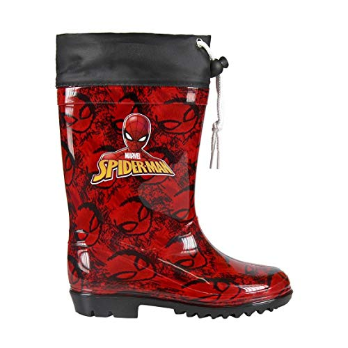 Spiderman Stiefel - Botas de Agua Infantiles Spiderman 6650