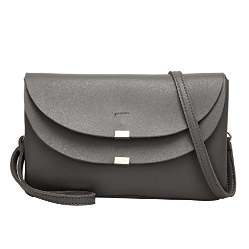 Damenmode Umhängetasche Mini Tasche Messenger Bag Grey