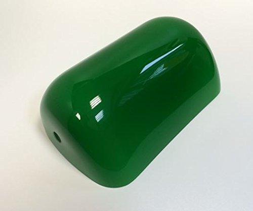 Lámparas de cristal de repuesto pantalla cristal de la pantalla de cristal de recambio para lámpara de mesa lámpara de la casa del diseño rústico en verde