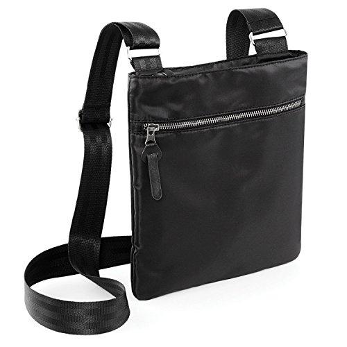 BagBase Onyx Across Body Bag Black