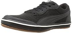 PUMA Men s Astro Sala Soccer Shoe Puma Black-puma Black 5 D(M) US