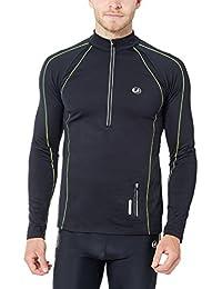 Ultrasport T-shirt de Course Coupe-vent et Peigné Jimi pour Homme avec Éléments Réfléchissants et Fonction Quick Dry