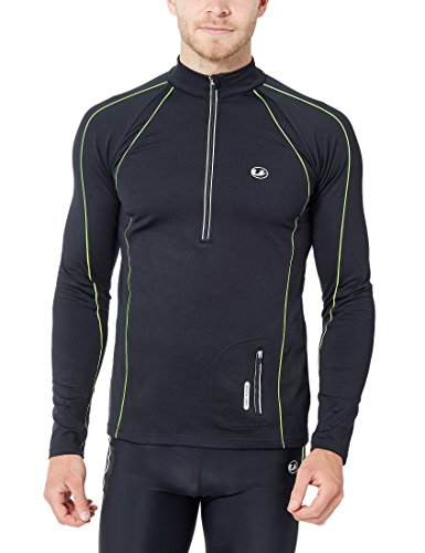 ultrasport-11023-maglia-da-corsa-antivento-uomo-nero-neon-giallo-xl