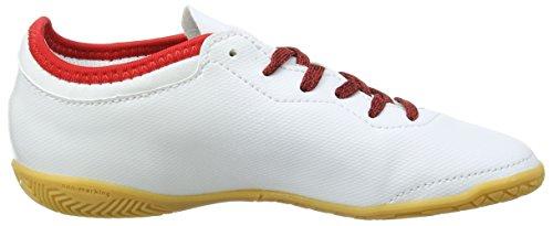 adidas X Tango 16.3 In J, Chaussures de Football Entrainement garçon Blanc (Ftwr White / Ftwr White / Red)
