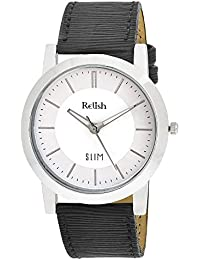 RELISH RE-S8027SW SLIM Black Dial Analog Watch For Mens & Boys